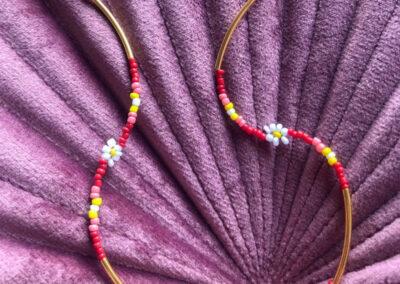 Collana con fiore Atelier Bianka Helena